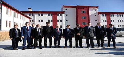 Rektör Karakaş Dazkırı, Başmakçı ve Dinar'da İncelemelerde Bulundu