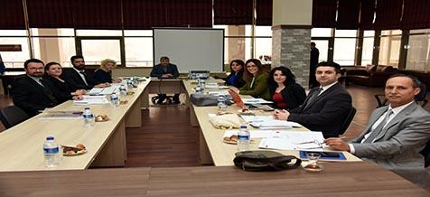 Avrupa Staj Fırsatları Projesinin İkinci Toplantısı Yapıldı