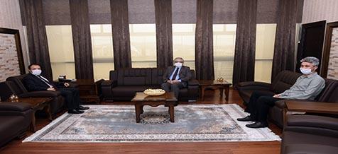 İl Müftüsü Kabukçu'dan Rektör Karakaş'a Veda Ziyareti