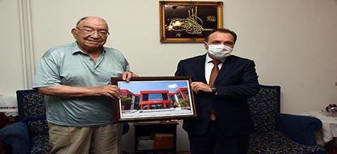 AKÜ'den Kurucu Rektör Prof. Dr. Şehabettin Yiğitbaşı'na Vefa