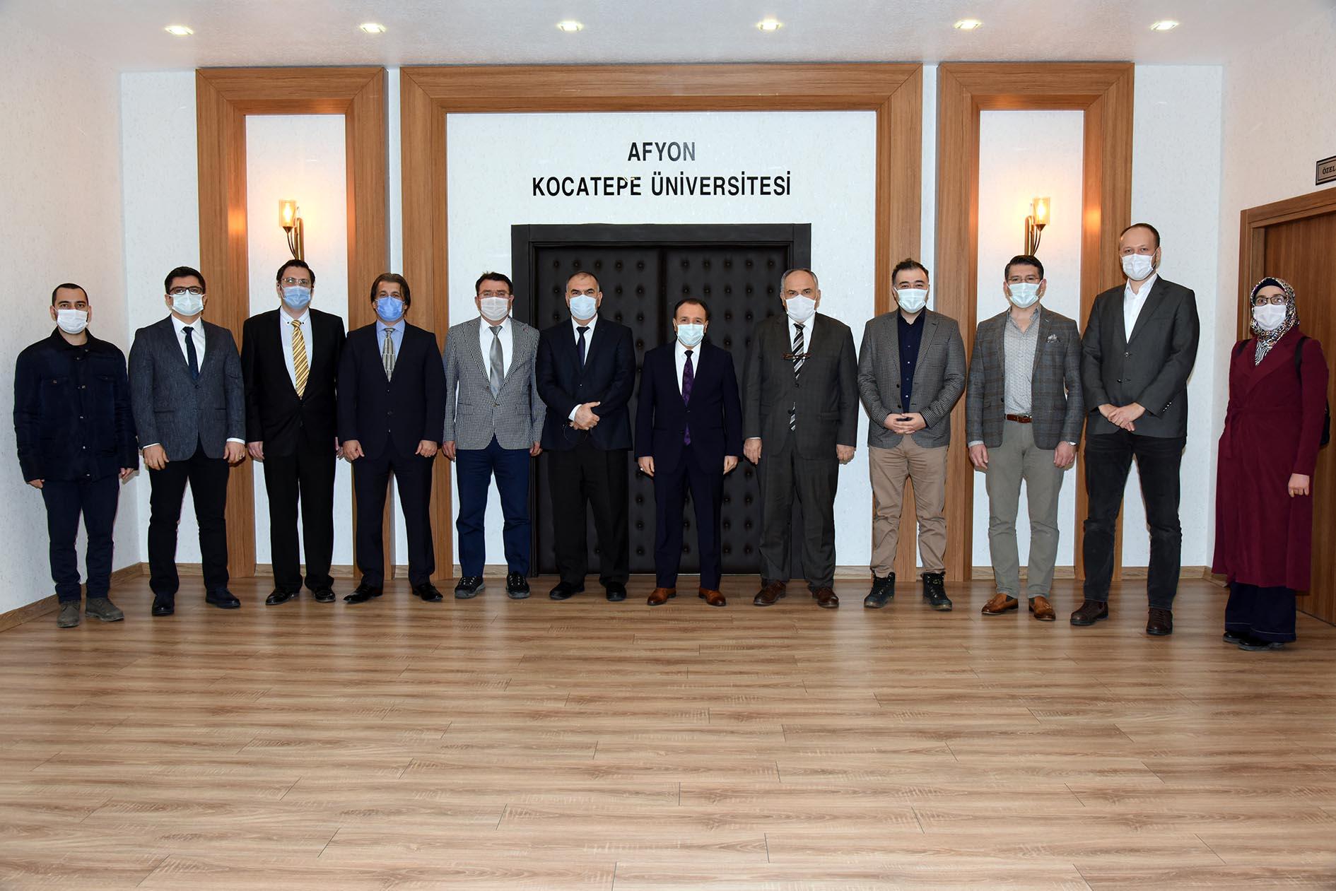Yeni Atanan Öğretim Üyeleri İçin Tanışma Toplantısı Düzenlendi